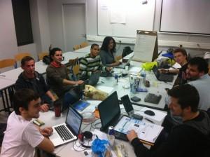 L'équipe Tel4Expat au Startup Weekend