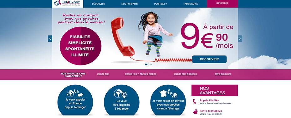 Tel4Expat lance ses offres 2015 au Canada