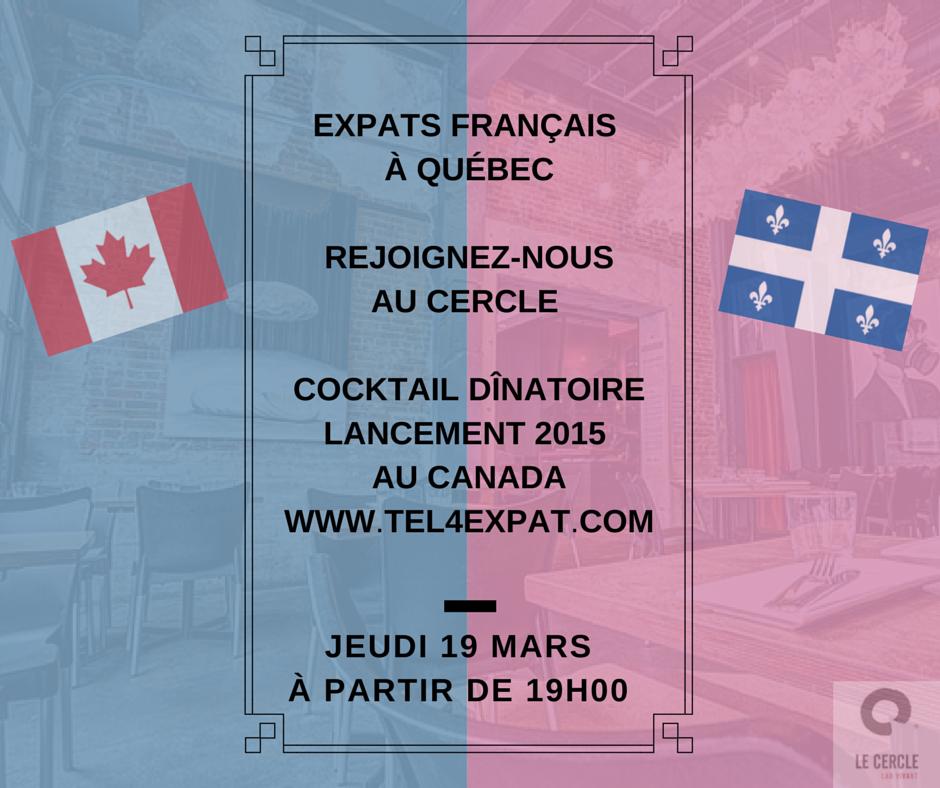 Expats français : venez faire la fête avec nous à Québec