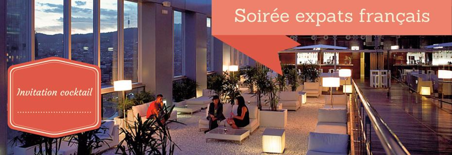 Rejoignez-nous à la soirée expats français jeudi 21 mai à Barcelone