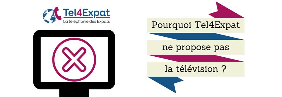 Pourquoi les expatriés français ne peuvent pas avoir la télévision française ?
